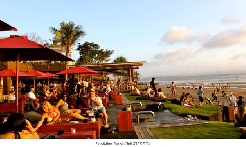 Le célèbre Beach Club KU DE TA