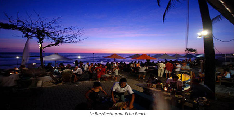 Le Bar/Restaurant Echo Beach