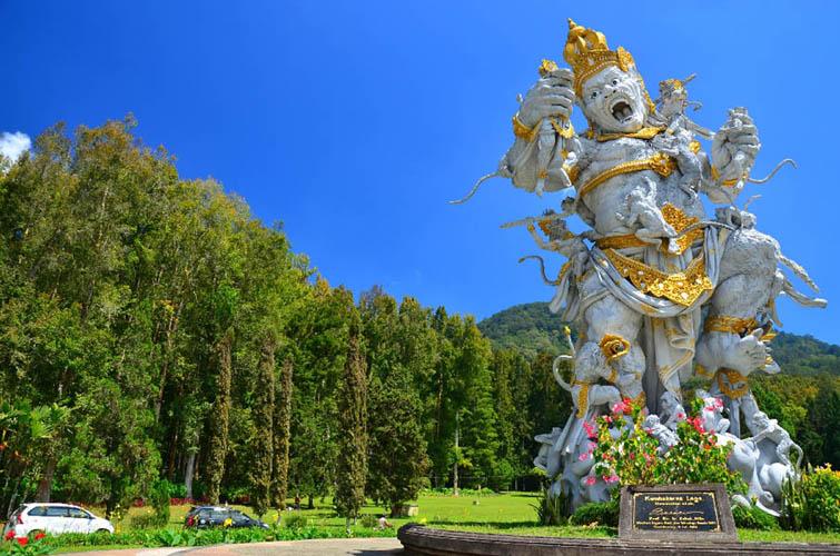 Bedugul botanical garden Bali